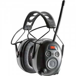 3M WorkTunes Wireless Hearing Protector with Bluetooth Technology