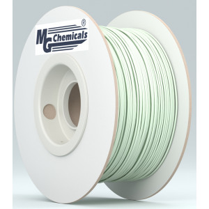 MG CHEMICALS 1.75mm ABS 3D Printer Filament 1kg Super Glow in the Dark Natural