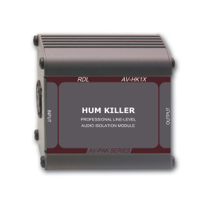 RDL Hum Killer Audio Isolation Transformer