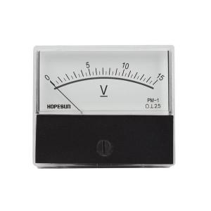 """Velleman Panel Meter 15VDC / 2.8"""" x 2.4"""""""
