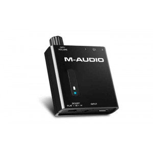 M-AUDIO Bass Traveler Portable 2 Channel Headphone Amplifier