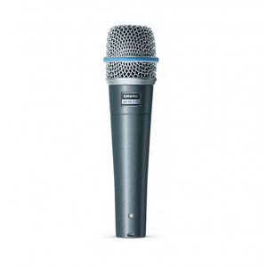 SHURE High Output Super Cardioid Dynamic Instrument Microphone