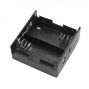PHILMORE Battery Holder for 2 'D' Batteries