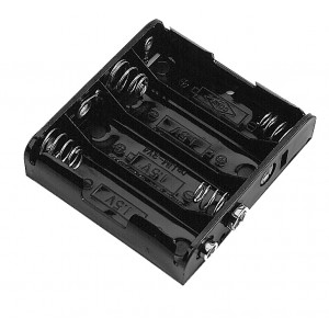 PHILMORE Battery Holder for 4 'AAA' Batteries