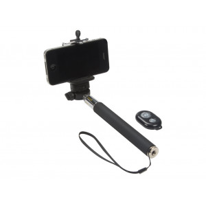 VELLEMAN Selfie Stick with Wireless Remote Control Shutter Button