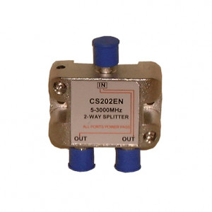 PHILMORE 2 Way Cable/TV Splitter 3GHz