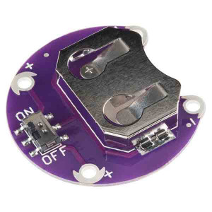 SPARKFUN LilyPad Coin Cell Battery Holder with Switch