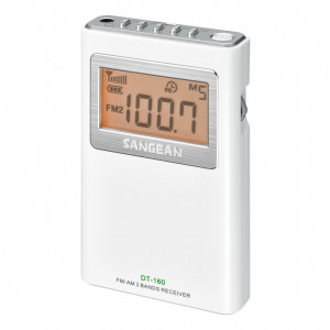 SANGEAN FM-Stereo/AM Pocket Receiver