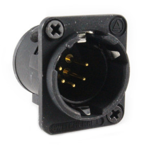 SWITCHCRAFT E Series Pin XLR Male Panel Mount