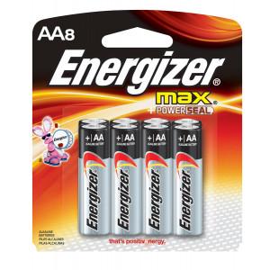 ENERGIZER Alkaline Max AA Battery 8pk