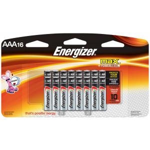 ENERGIZER Alkaline Max AAA Battery 16pk