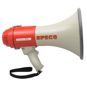 SPECO 16W Deluxe Megaphone with Siren