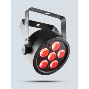CHAUVET Battery-Operated, Tri-color RGB LED Wash Light
