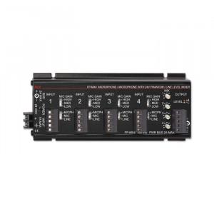RDL 4 Channel Audio Mixer