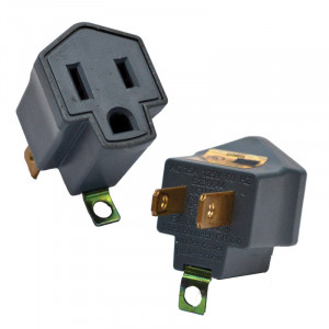 GOGREEN 2 to 3 Prong AC Adapter