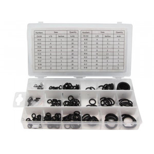 VELLEMAN Metric Nitrile O-Ring Assortment - 225 pcs