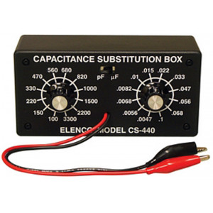 ELENCO Capacitance Substitution Box Kit