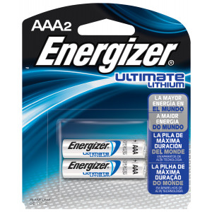 EVEREADY Ultimate Lithium AAA Battery 2pk