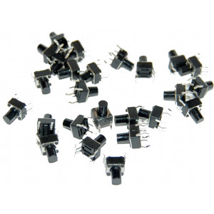OSEPP Mini Push Button Switch 25pc