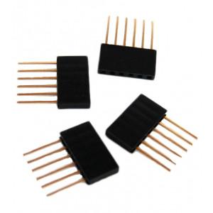 OSEPP Arduino Stackable Header  6 Pin 4pcs