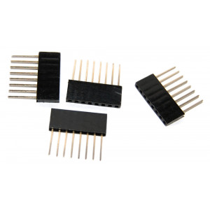 OSEPP Arduino Stackable Header  8 Pin 4pcs