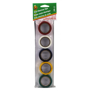 PHILMORE Vinyl Electrical Tape 5pk