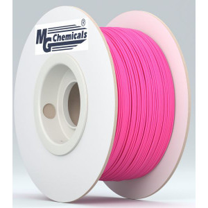 MG CHEMICALS 1.75mm PLA 3D Printer Filament 1kg Flourescent Red