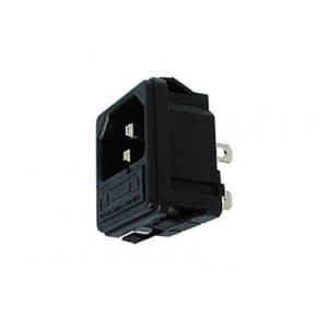 VELLEMAN Male Power Fused IEC Socket