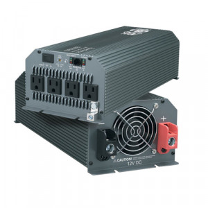 TRIPPLITE 1000W PowerVerter Compact Inverter with 4 Outlets