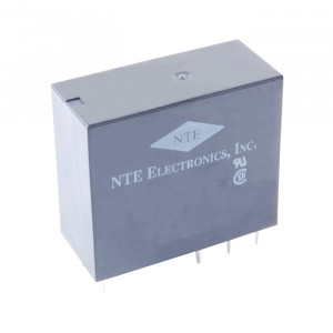 NTE Epoxy Sealed Relay 24VDC 16A DPDT PC Board Mountable