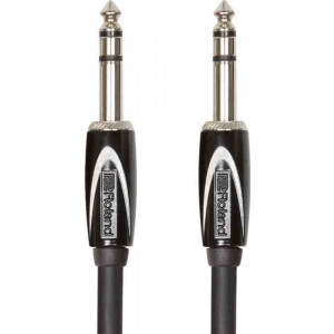 "ROLAND Interconnect TRS 1/4"" Balanced 10ft Black Series"
