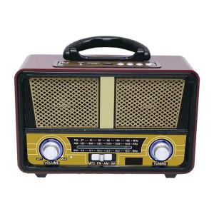 QFX Bluetooth AM/FM/Shortwave Portable Radio with USB Player
