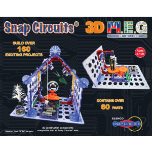 ELENCO Snap Circuits 3D M.E.G.