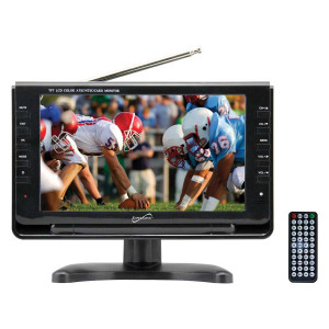 "SUPERSONIC 9"" Portable LCD TV"