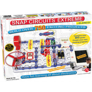 Elenco Snap Circuits 750 Experiments