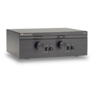 RUSSOUND Dual Source Two-Pair Speaker Selectors with Volume Control