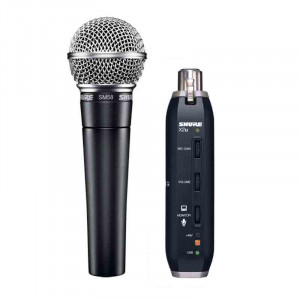 SHURE Dynamic Vocal Microphone with USB Digital Bundle