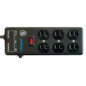 FURMAN Pro Surge Suppressor Strip 6 Outlet