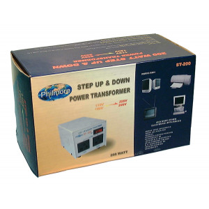 PHILMORE 200 Watt Step Up/Step Down Transformer
