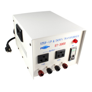 PHILMORE3000 Watt Step Up/Step Down Transformer