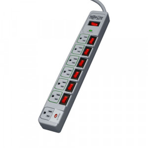 Tripplite 7-Outlet Individually Switched