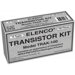 ELENCO Transistor Assortment 100pc