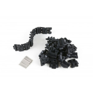 OSEPP Tank Track Set with Axles 40 pack