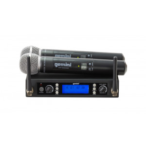 GEMINI Dual Handheld Wireless Mic System