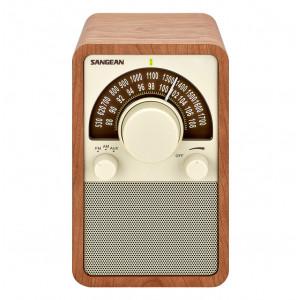 SANGEAN FM/AM Wooden Cabinet Receiver