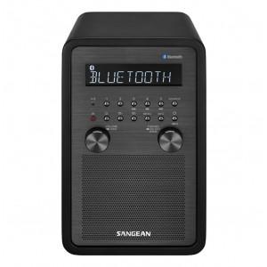 SANGEAN FM/AM/Bluetooth Wooden Cabinet Receiver