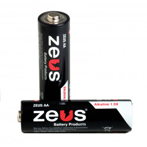ZEUS Alkaline AA Battery 40pk