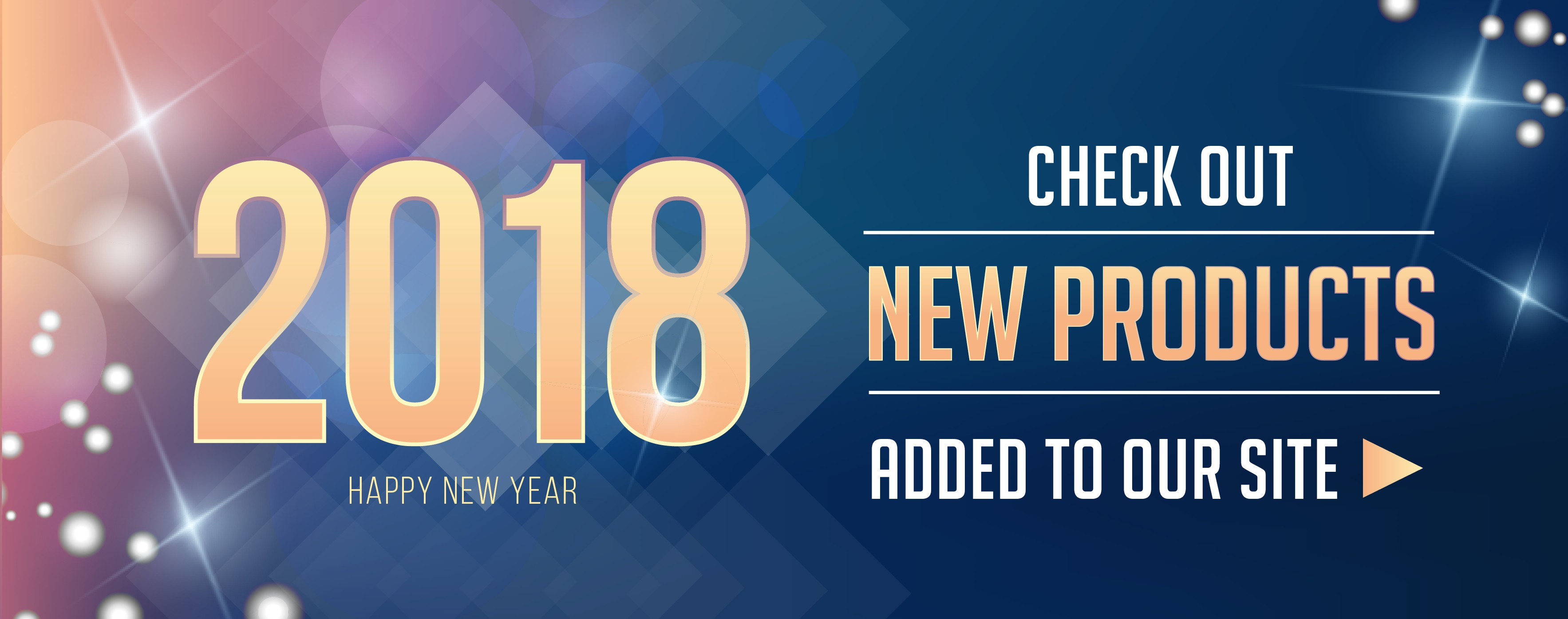New Year 2018 Products